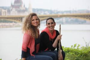 Katalin Csillagh , piano, Noemi Győri , flute